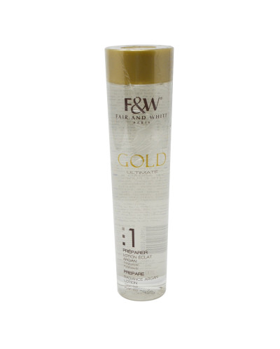 FAIR & WHITE - GOLD Ultimate Ltion Eclat Argan 200ml