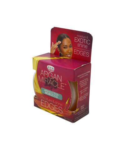 African Pride - ARGAN MIRACLE Edges 64g