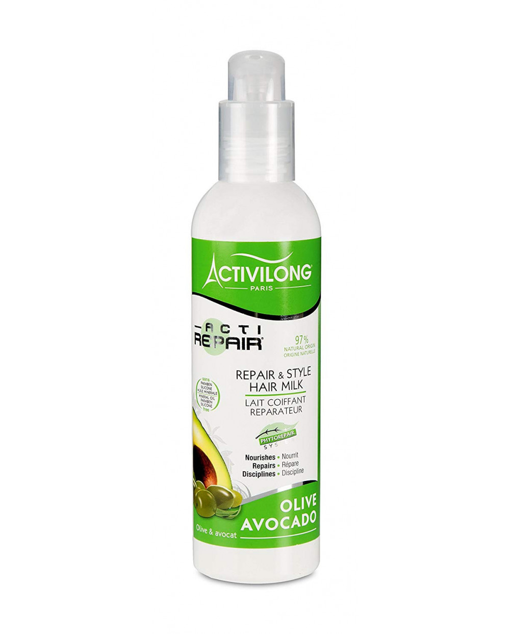Activilong - ACTIREPAIR Lait Coiffant Réparateur 240ml