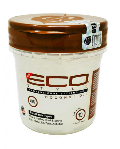 Eco coconut oil.GEL. 236 ml