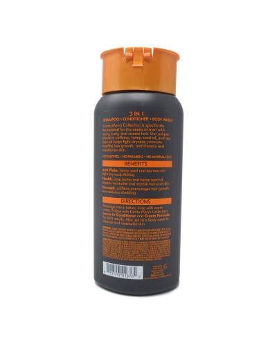 cantu shea butter 3 in 1 body wash men