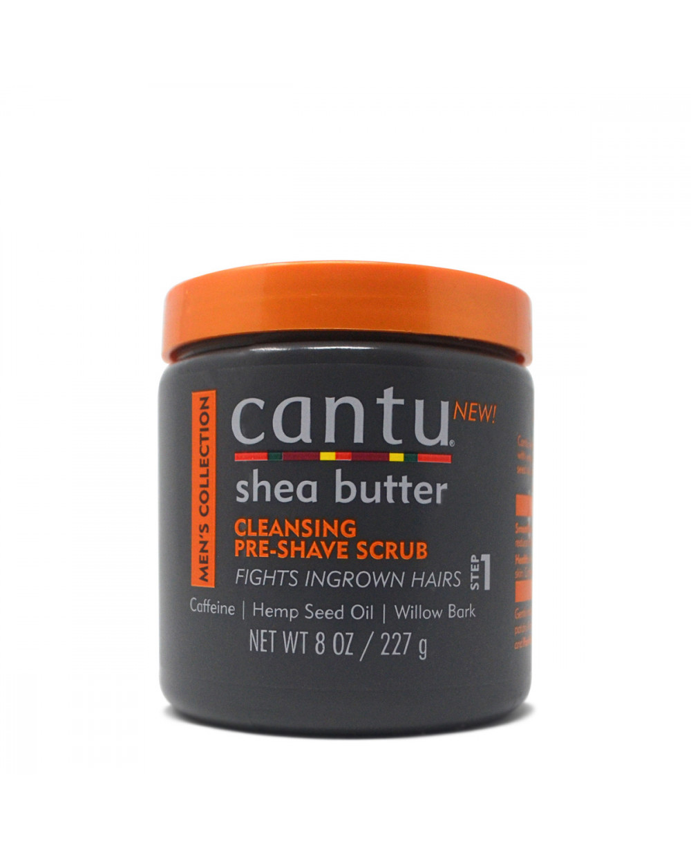 Cantu Men's Collection Cleansing Pre-Shave Scrub 227g