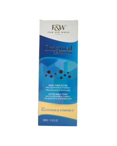 F&W Original Glutathion Maxi Tone Extra 350ml