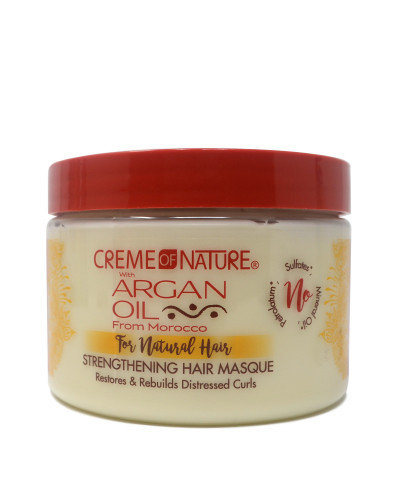 Creme of Nature Argan Oil - Strengthening Hair Masque For Natural Hair
