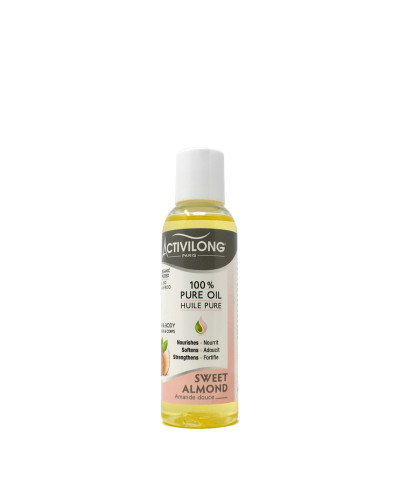 ACTIVILONG - 100% Pure Oil SWEET ALMOND 75ml